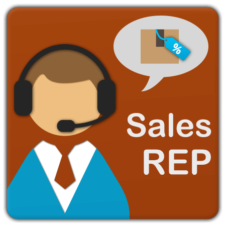Helps you track sales representative performance with sales reports and commission management